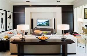 Console Derriere Canapé : meuble derriere canape ~ Melissatoandfro.com Idées de Décoration