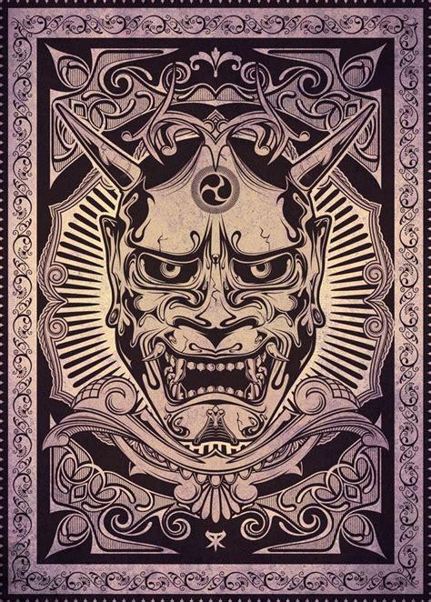 hannya  rodcom posters tatouage oni tatouage