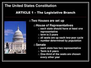 Constitution Overview Abbreviated For 8th Grade