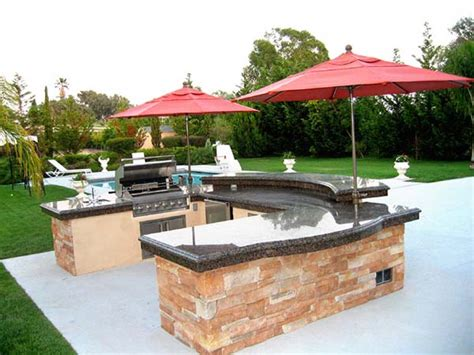 Outdoor Kitchen Design-for Barbeques Or Whatever You Like