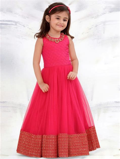 new year special party wear designer dresses online 2017 indian designer pink baby frock for birthday small