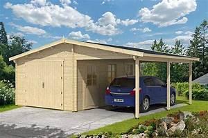 Doppelgarage Aus Holz : die holzgarage mit carport ~ Sanjose-hotels-ca.com Haus und Dekorationen