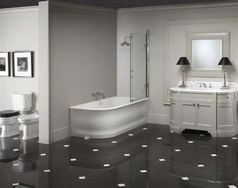 stile bagno the classic lines and floor tiles
