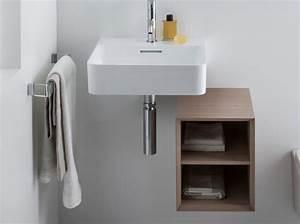 40 meubles pour une petite salle de bains elle decoration With salle de bain design avec lavabo petit format