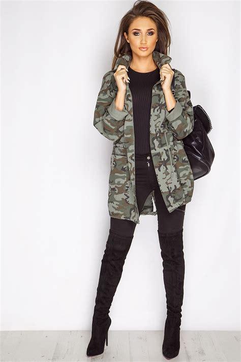 Khaki Jacket Outfit - Oasis amor Fashion