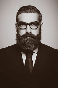 Man with Mustache and Beard Suit