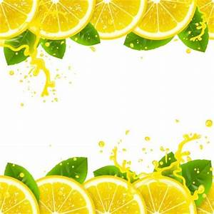 Fresh lemons juice vector background - Vector Background ...