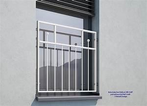 franzosischer balkon md03ap pulverbeschichtet weiss ral9016 With französischer balkon mit sicherungskasten außenbereich garten