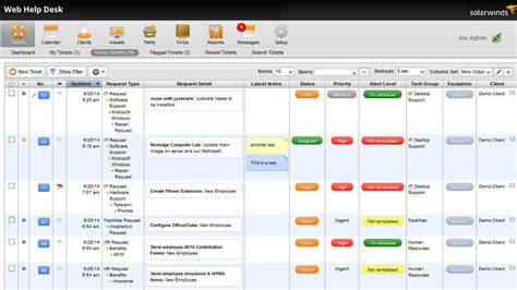 Solarwinds Web Help Desk Pricing by Service Desk Software It Service Desk Solarwinds