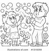 Bubbles Blowing Clipart Coloring Tub Template Clip Clipground sketch template