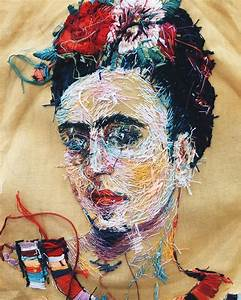 New embroidered clothes and portraits by lisa smirnova for New embroidered clothes and portraits by lisa smirnova