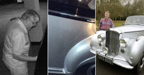 Bentley Owner In Colchester Catches Vandal Scratching His