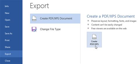 How To Save A File To Pdf In Word And Excel 2013 Wp