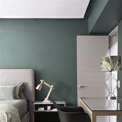 ambiance chambre adulte chambre verte maison
