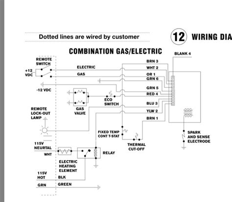 wiring diagram for atwood water heater the wiring