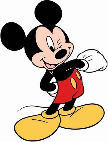 Mickey Mouse Winking Clipart Disney Minnie Walt