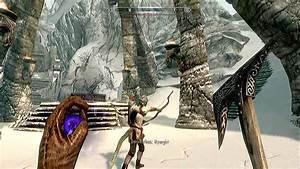 Skyrim Revered Dragon First encounter - YouTube