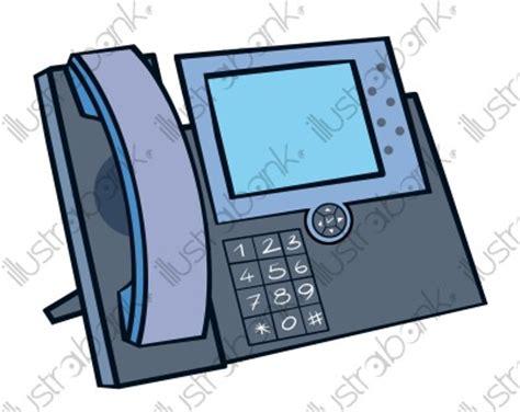 telephone de bureau téléphone illustration informatique électronique libre de