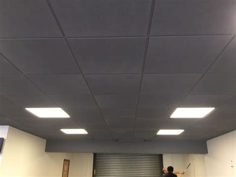 Painted Suspended Ceiling Wwwenergywardennet