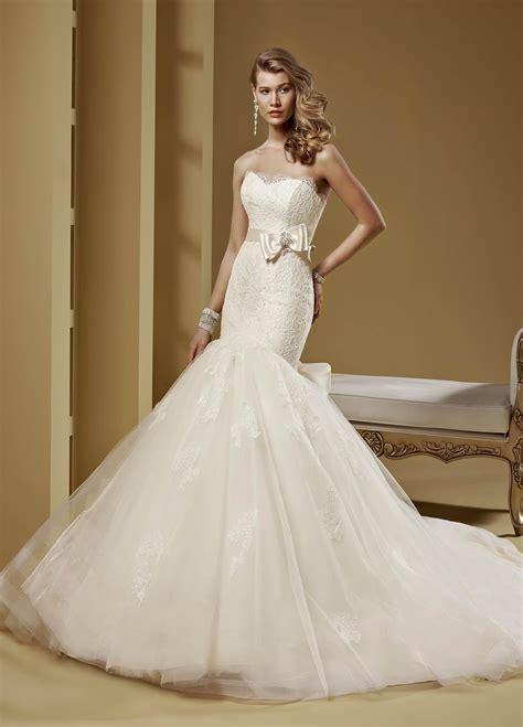Stai cercando l'abito da sposa? Abiti da sposa a sirena 2015 - Lei Trendy