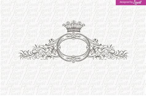 royal logo vintage wedding logo logo templates creative market
