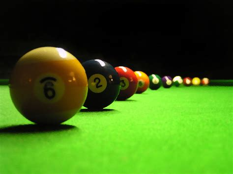 Wallpapers Billiards Balls Wallpapers