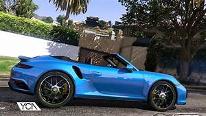 2016 Porsche 911 Turbo S Cabriolet 9912 Add On