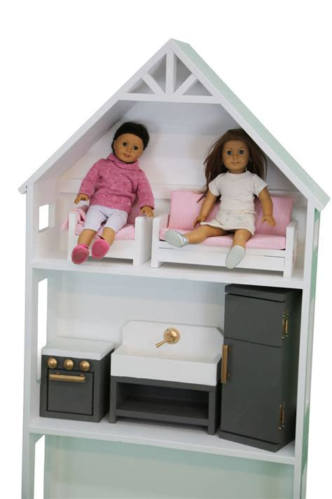 ana white smaller  story dollhouse