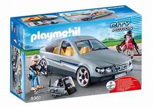Voiture Playmobil Porsche : voiture banalis e avec policiers en civil 9361 playmobil belgi ~ Melissatoandfro.com Idées de Décoration