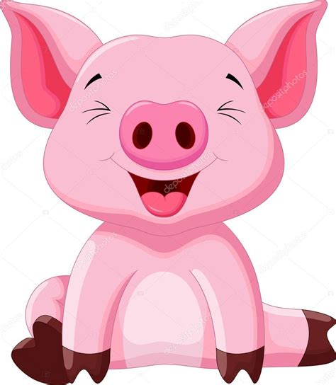 Check out our baby pig svg selection for the very best in unique or custom, handmade pieces from our digital shops. Cute pig cartoon — Stock Vector © irwanjos2 #88028112