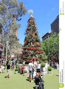 albero di natale melbourne immagine stock editoriale immagine 35850709