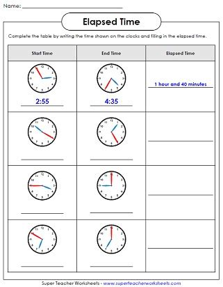 measuring time worksheets time alistairtheoptimist free