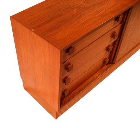 small credenza small modern teak sideboard