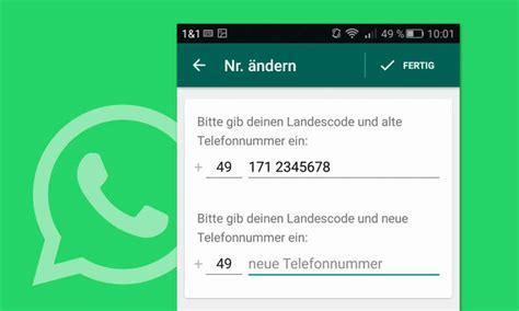 whatsapp auf neue nummer umziehen anleitung pc magazin