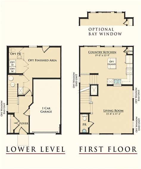floor plan designs for homes model townhomes floor plans