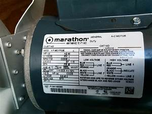 I Have A Marathon Electric Motor  1  3 Hp   Im Trying To Understand