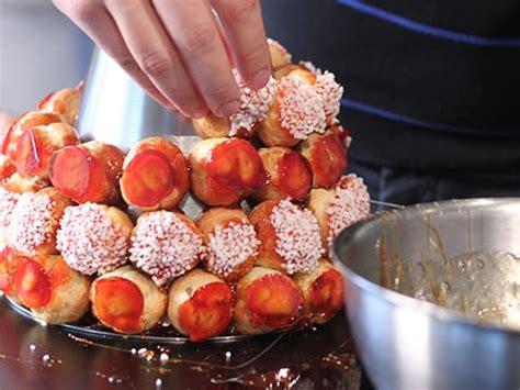 recette cuisine italienne pièce montée en choux recette de cuisine illustrée