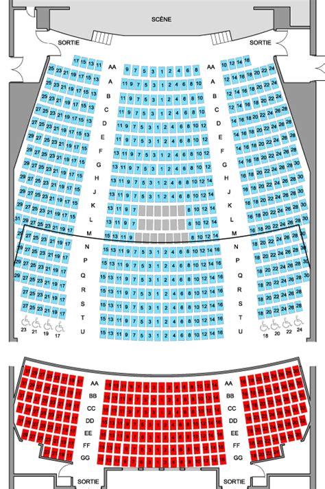 plan de salle theatre st denis billets marcellin chagnat spectacle concerts billetterie billets ca