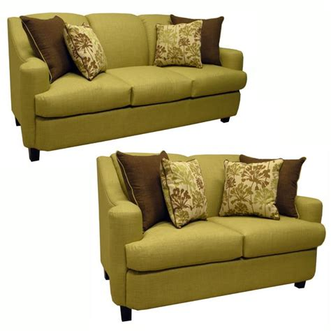 Green Sleeper Sofa by Lansing Lime Green Fabric Sofa Bed Sleeper And Loveseat