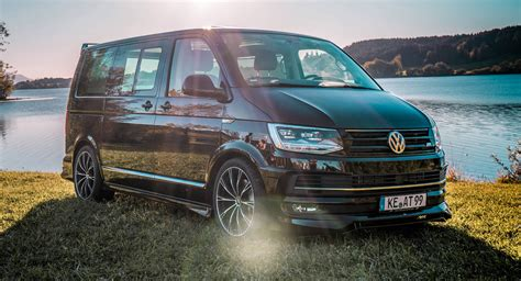 vw t6 abt abt gives vw t6 a dose of aggressiveness injects more power carscoops