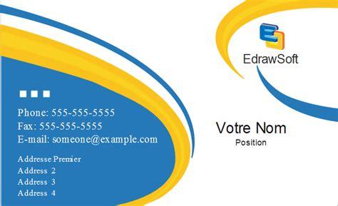 modèle carte de visite personnelle cartes d affaires t 233 l 233 chargement gratuit des mod 232 les et