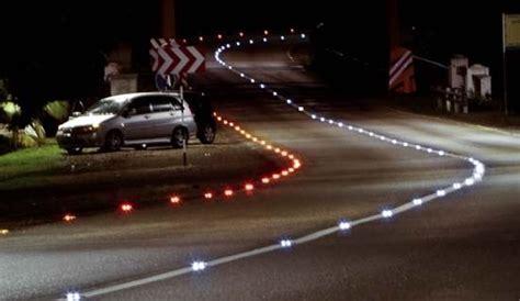 LED road lights improve accident black spots ? Lighting