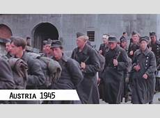 Austria in May 1945 in color and HD Gramastetten and Linz