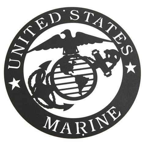 Marine Corps Emblem Clip Marine Corps Emblem Clip In White