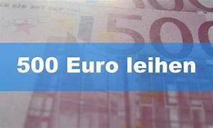 Kredit 500 Euro : 500 euro leihen mein geld blog ~ Kayakingforconservation.com Haus und Dekorationen