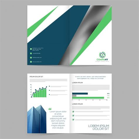Company Booklets Templates by Template Marketing Company Booklet Phlet Vector