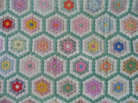 flower garden patterns 17 best images about grandmother s flower garden quilt on pinterest antique quilts stockings