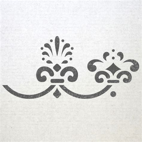 wall stencils border images