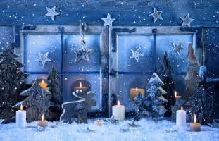 wallpaper new year decorations candle snow fir tree holidays 8211
