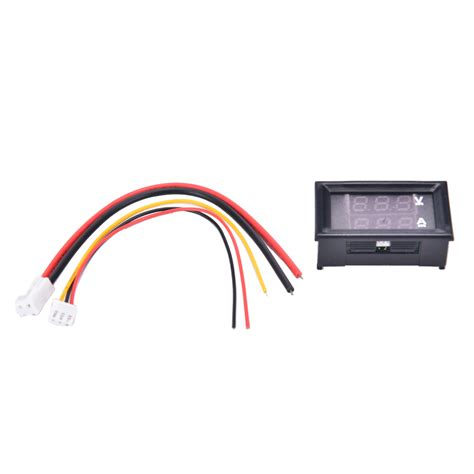 jetting dc 0 100v 10a digital voltmeter ammeter led dual display voltage current